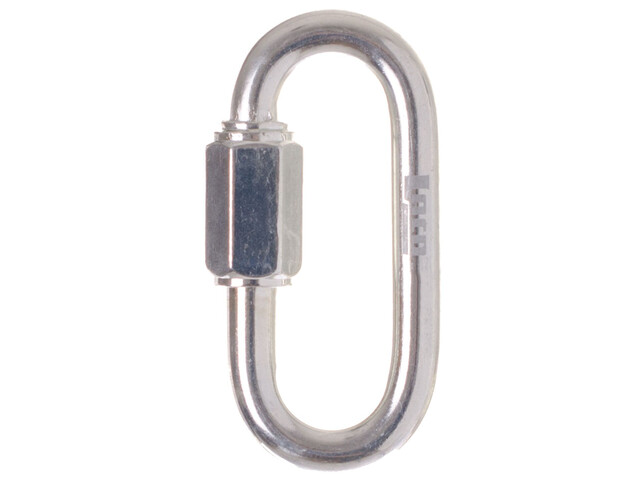 LACD Quick Link Oval Zinc Plated 8mm Carabiner